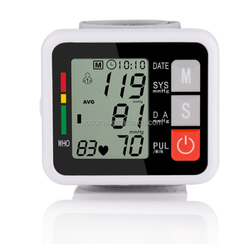 manufactured wrist watch blood pressure monitor