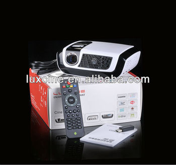 Smart Projector !!! C7 1080P 100Hz LED mini pocket projector with Android 4.2 O.S