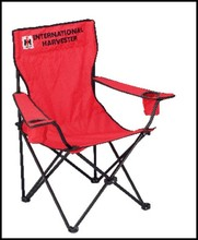 China Manufacturer Portable Folding Backpack Beach Chair With Arms for Outdoor