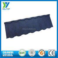 Metal tile colorful stone coated roof sheet