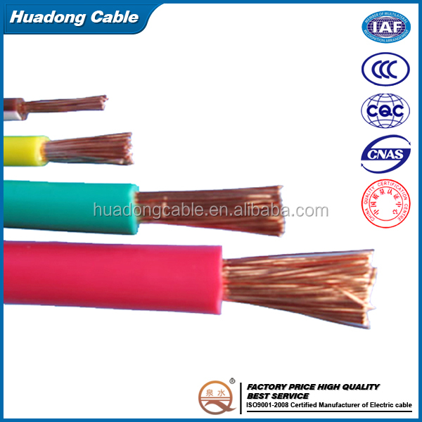 low voltage 50mm2, 70mm2 copper core rubber cable