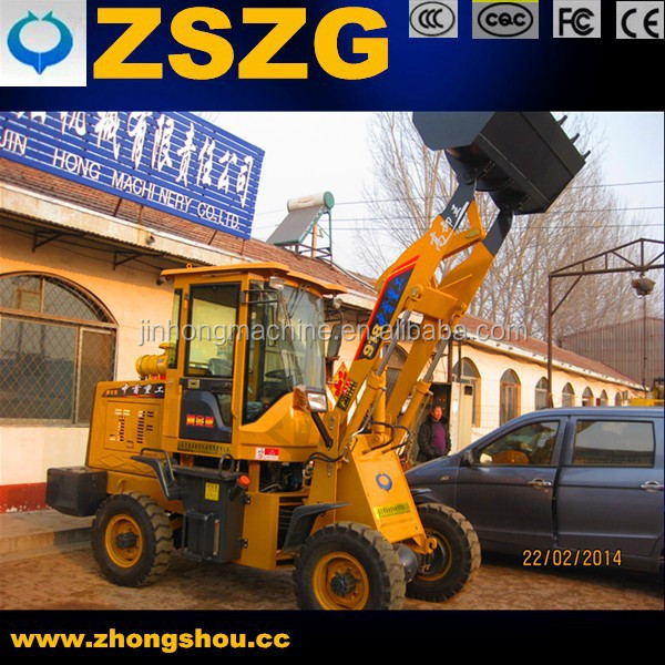Small type wheel loader mini type loader/ZL18,wheel loader made in China