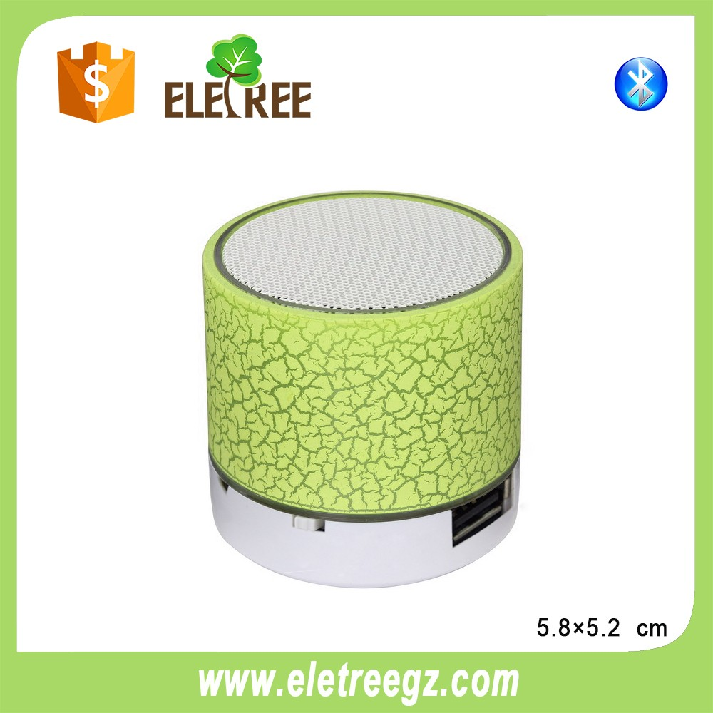 wonderful led light, wireless,mini bluetooth speaker efficient bluetooth transmission speed, to ensure complete audio