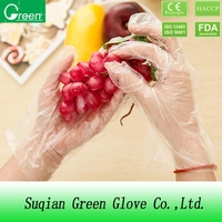 food handing LDPE/HDPE/CPE/TPE disposable plastic polyethylene PE gloves for medical use
