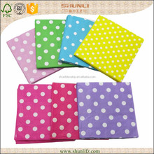 birthday party printed color polka dots napkin paper