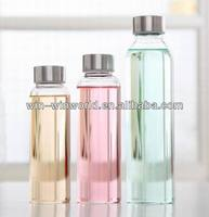 Hot New Products For 2014 Promotional Gift Wedding Decoration Glass Bottle