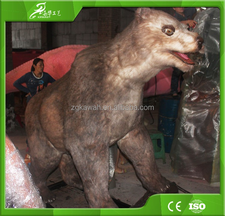KAWAH Customized Theme Park Decoration Realistic Animal Bear Statue
