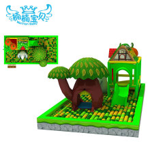 Pretty and colorful indoor game playroom equipment
