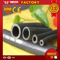High pressure flexible rubber hose pipe used in track oil line