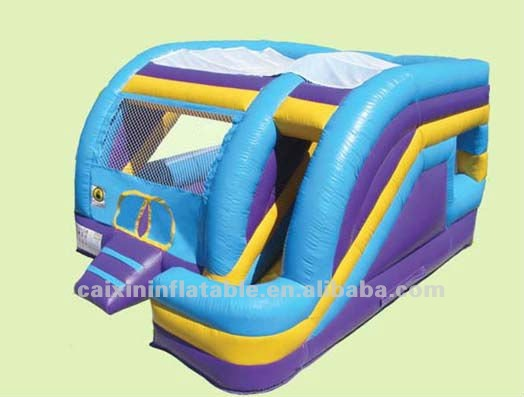 Hot selling inflatable jumping bouncer for kids / commercial inflatable water slides