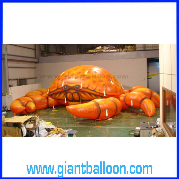 PVC Plastic Inflatable Crab