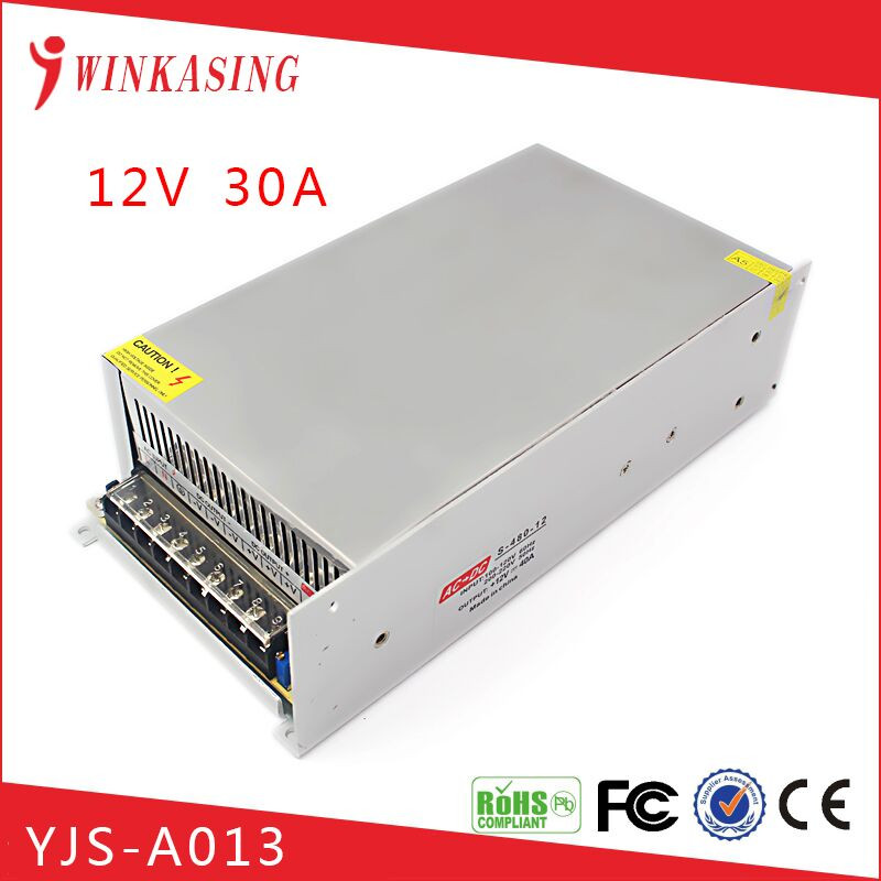 CCTV 12V 20A switching portable 220v battery power supply