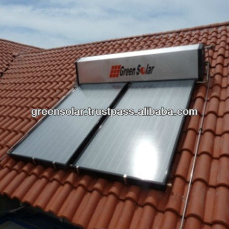 Malaysia S-Series GS-66 CFC Free Rooftop Green Solar Water Heater