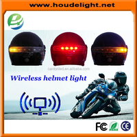 New design LED Motorcycle Wireless Helmet Light With Brake And Turn Signal