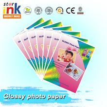 China Factory Wholesale Suppliers high quality inkjet Glossy A4 photo paper