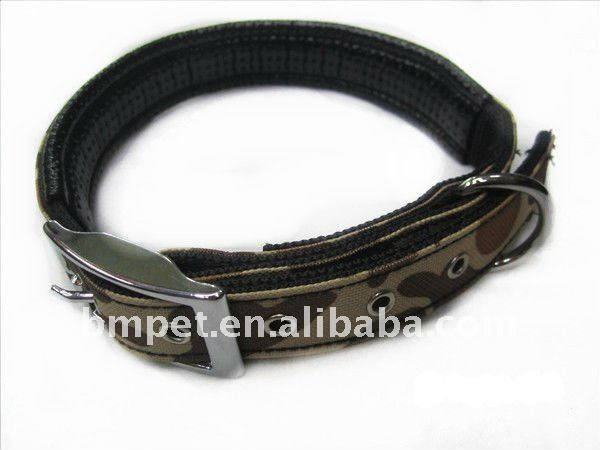 quality Army Green dog pet collar training collar
