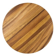 Nicely private label cutting board/round shape acacia wood chopping board/chopping block