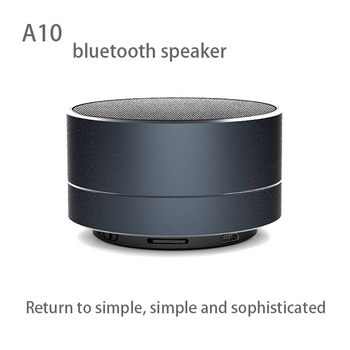 Promotion gift of Aluminum Bluetooth wireless speaker with LED