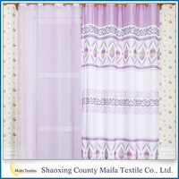 Latest designs 2016 Attractive Classical leaf print curtain