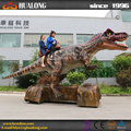 Outdoor Natural size walking dinosaur toy and rubber dinosaur toy