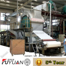 Single Cylinder Single Wire Toilet Paper Making Machine to Make Medium Tissue Paper Toilet Paper