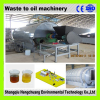 continuous plastic recycling line with 50% high oil output