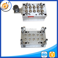 10 cavity cover plastic mold,plastic injection caps mould maker