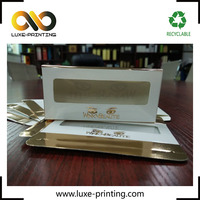 Creative False Eyelash Packaging Gold Foil