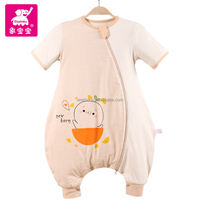 china suppliers Newborn infant organic cotton baby sleeping bag