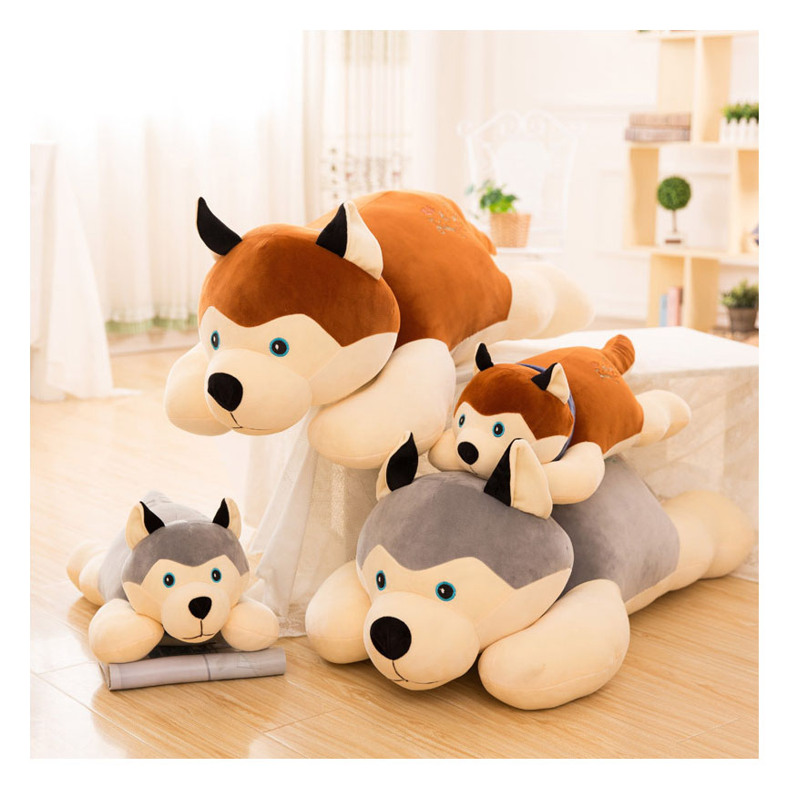 Alibaba Wholesale Custom Dog Design Soft Plush Toy Stuffed <strong>Animal</strong>