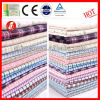 plaid wicking cotton fabric textile mills wholesale for garment