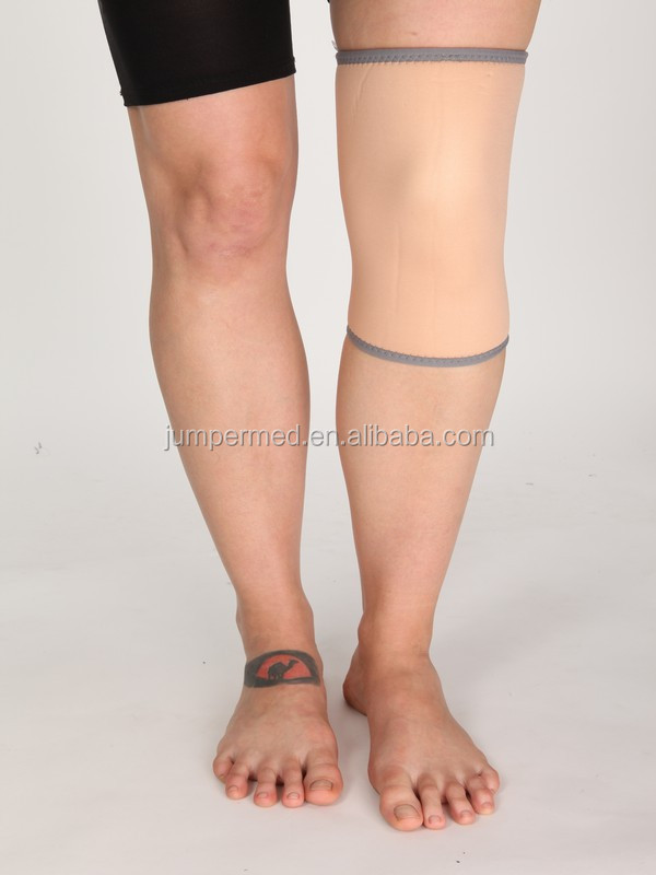 China Wholesale High Quality Beige neoprene knee brace/ comfort and breathable knee protector