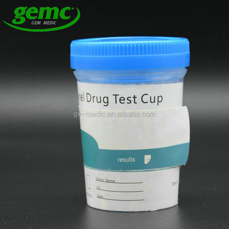 AMP, THC, MOP, OXY, MTD, BAR, BZO, MDMA, PPX, BUP Drug Testing 10 Panel Key Cup