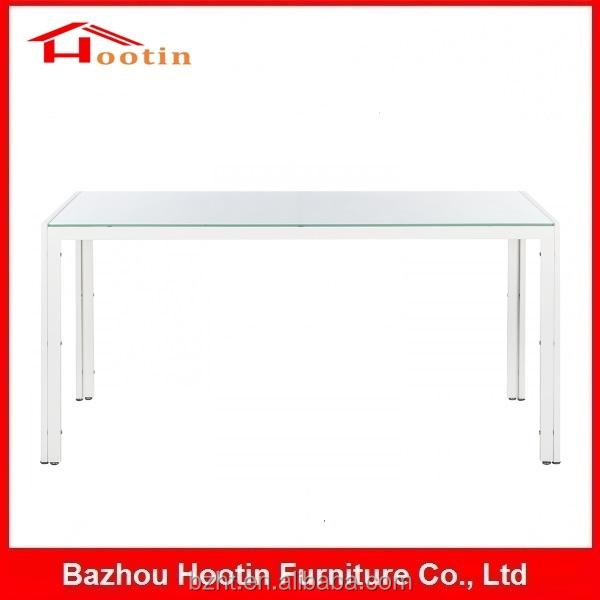 white rectangular dining table image