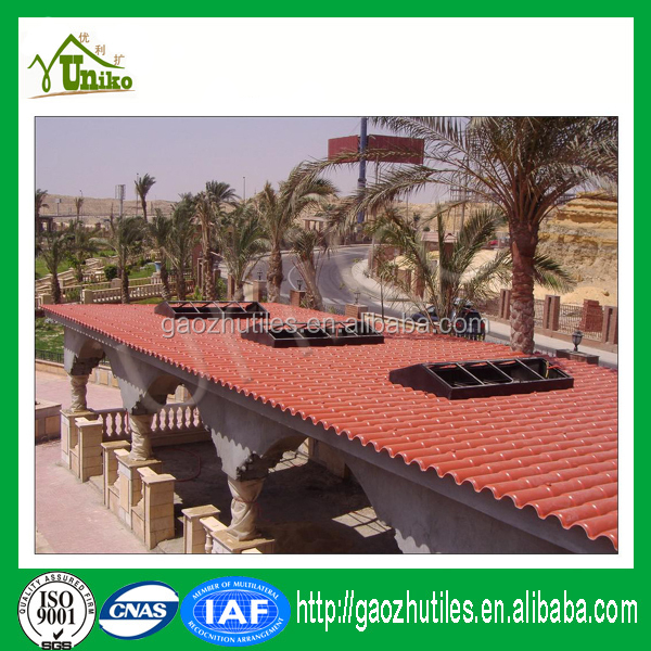 Corrugated roofing tiles India customize Spanish roof tile plans house ornaments
