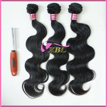 wholesale Mongolian virgin humanhair weave body wave with full cuticles 1209