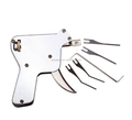 New Strong Manual Lock Pick Snap Gun Kit Tool Pin Tumbler Locksmith Double Track