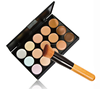 popular 15 Colors Mineral Contour Face Cream Makeup Concealer Palette