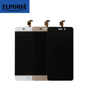 5.0 inch Black White Gold lcd Touch Screen Digitizer For ZTE Blade A452 X3 Assembly