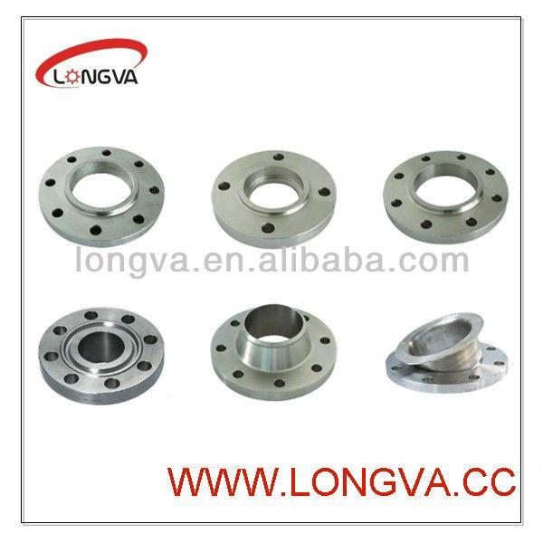 aisi316l stainless steel flange with welding neck