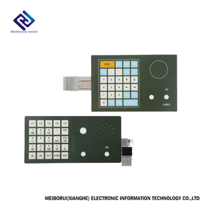 Custom Electronic membrane keyboard keypad Small Printed Circuit Board Supplier