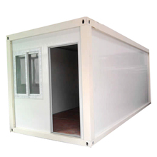 High quality 40ft Hydraulic Shipping Container House for Showroom