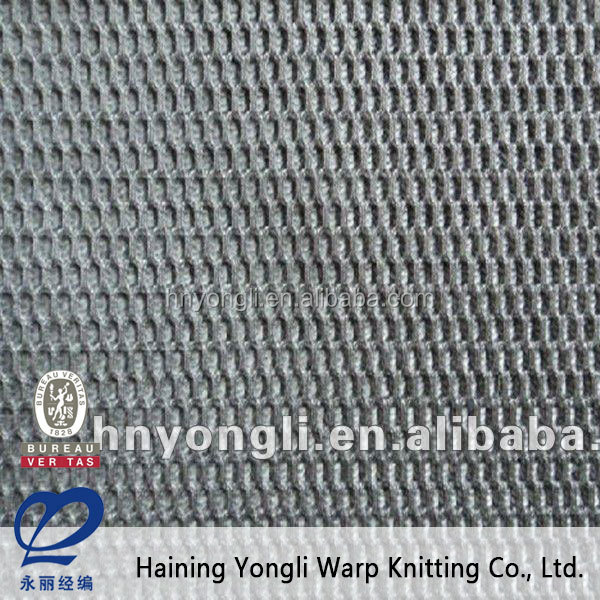 Knitted Polyester biaxial flex banner base fabric mesh fabric