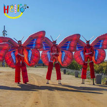 Hot sale event performance inflatable costumes flame/inflatable flame
