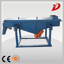 no splash,high efficiency abrasive linear vibrating screen