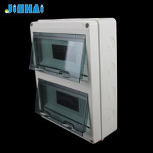 Low Voltage 24 Way Pvc Mcb Outdoor Distribution Panel Box