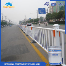 Bridge surface spraying acrylic polyurethane paint color