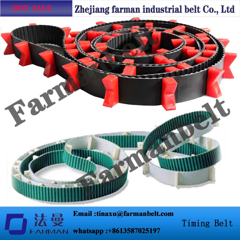 H PU timing belt industrial belt ,galvanlized steel cord jointed belt ,conveyor belt
