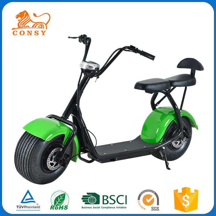 Chinese Supplier CONSY ES9001 citycoco electric motorcycle