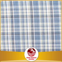 Zhejiang 30% cotton 70% polyester yarn dye shirt fabric